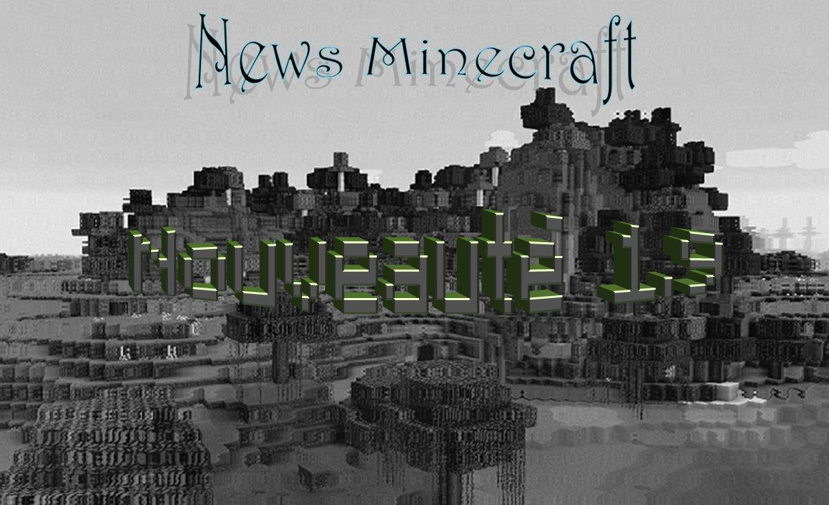 minecraft news nouveauté 1.9