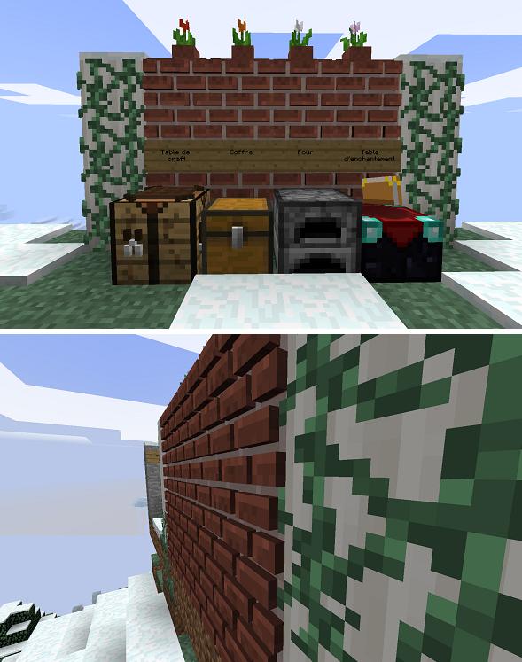 minecraft resource pack xdcobra 3d realistic brique