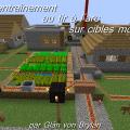 minecraft map entraînement au tir à l'arc