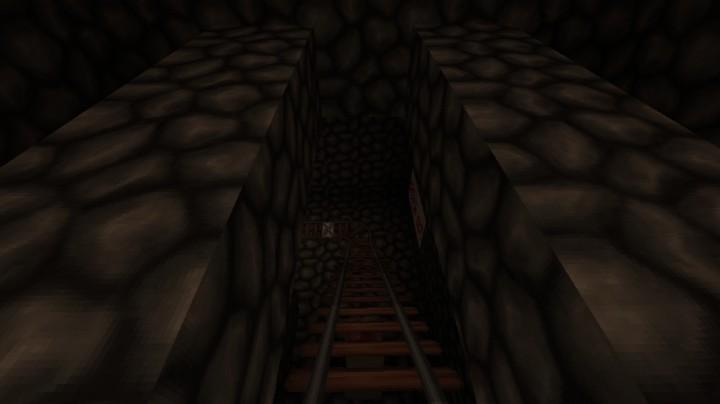 minecraft map maison hantée never sleep again horror