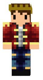 3.minecraft skin prince charmant