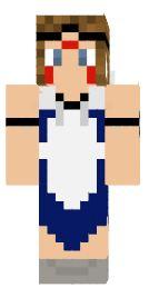 3.minecraft skin princesse mononoke