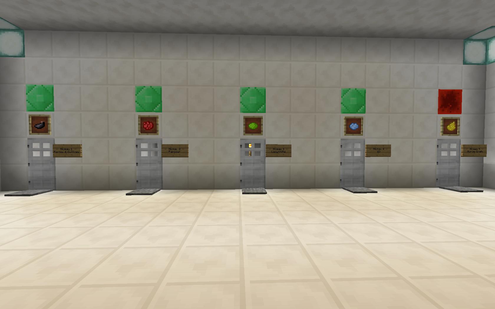 minecraft map aventure the doors