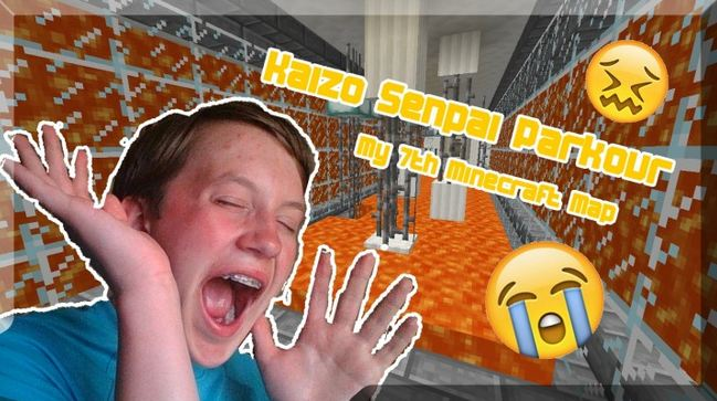 minecraft map senpai kaizo parkour impossible parcours