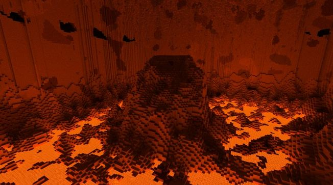 minecraft map survie reach – a world unfolding lave