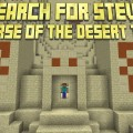 minecraft map aventure search for steve – the curse of the desert temple
