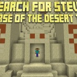 minecraft map aventure search for steve - the curse of the desert temple