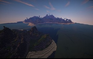 minecraft map customisé eden valley incroyable plage