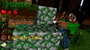 minecraft map pvp chivalcraft classe chasseur
