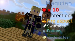 minecraft map pvp chivalcraft classe magicien