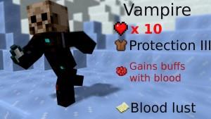 minecraft map pvp chivalcraft classe vampire