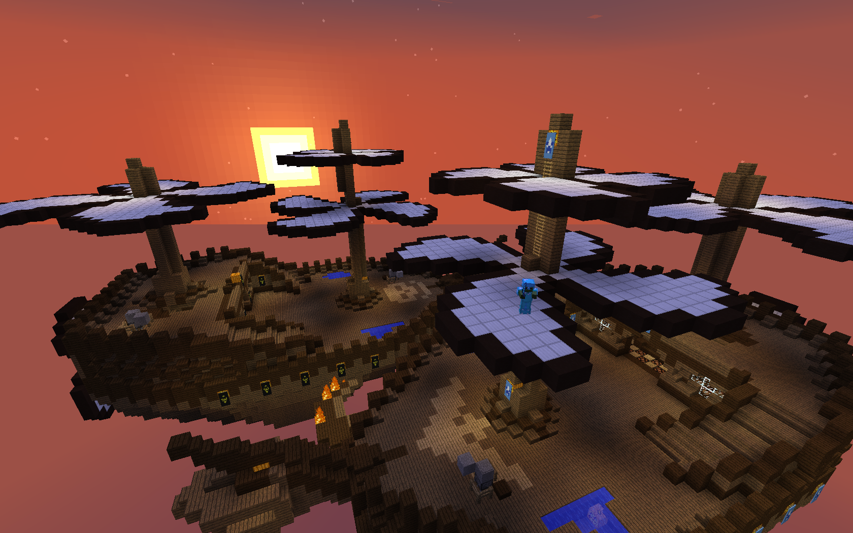 minecraft pvp forever fight cannon fodder 1