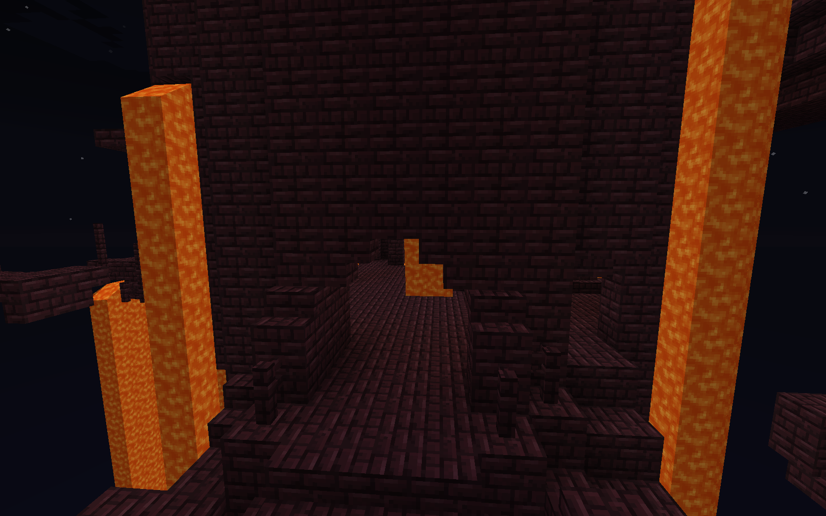 minecraft pvp forever fight nether fortress 1