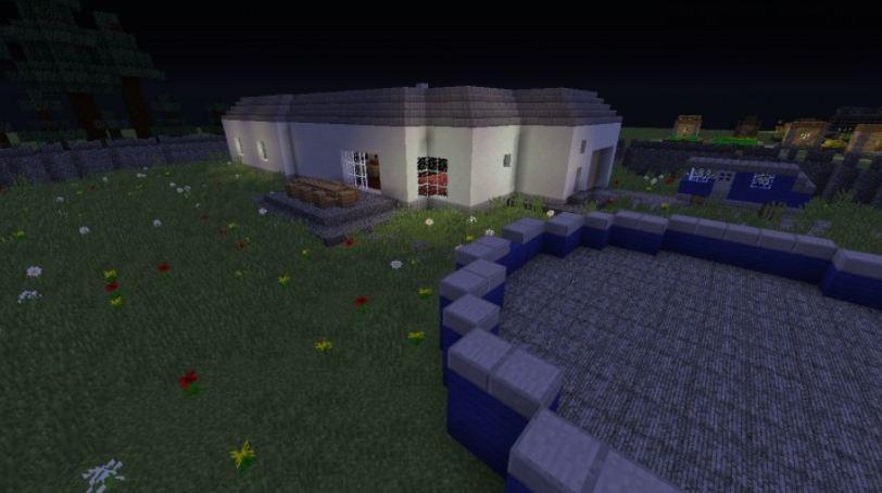 minecraft map aventure horreur momy 1.8 jardin