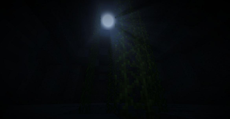 minecraft map aventure horreur wandering nuit
