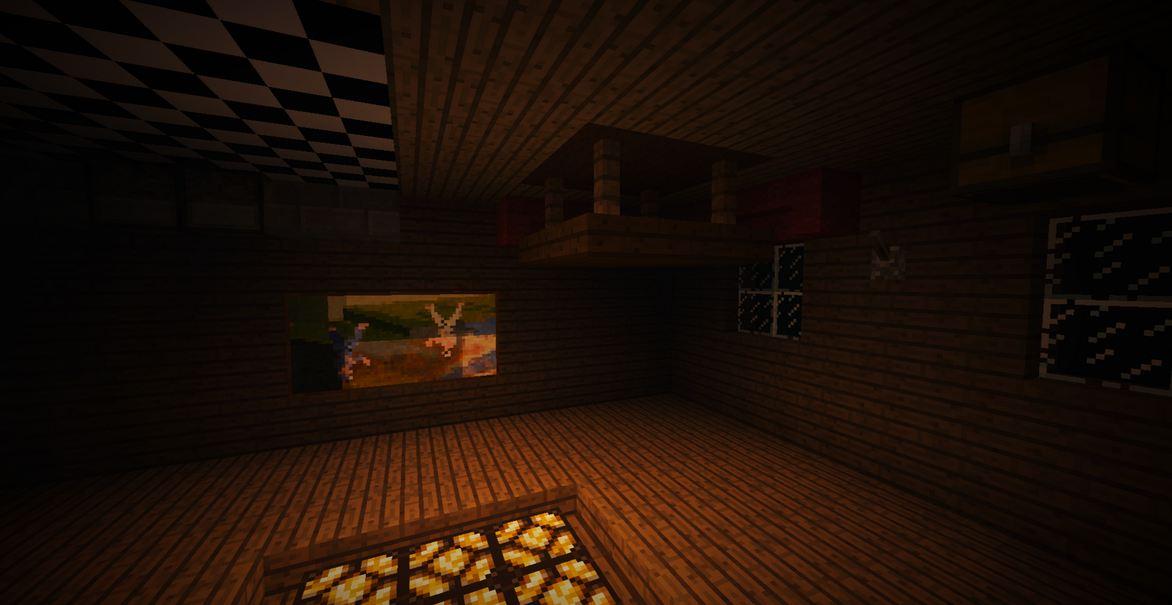 minecraft map aventure horreur wandering salle inversé