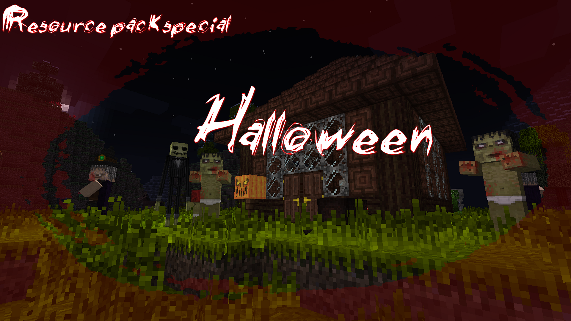minecraft resource pack halloween