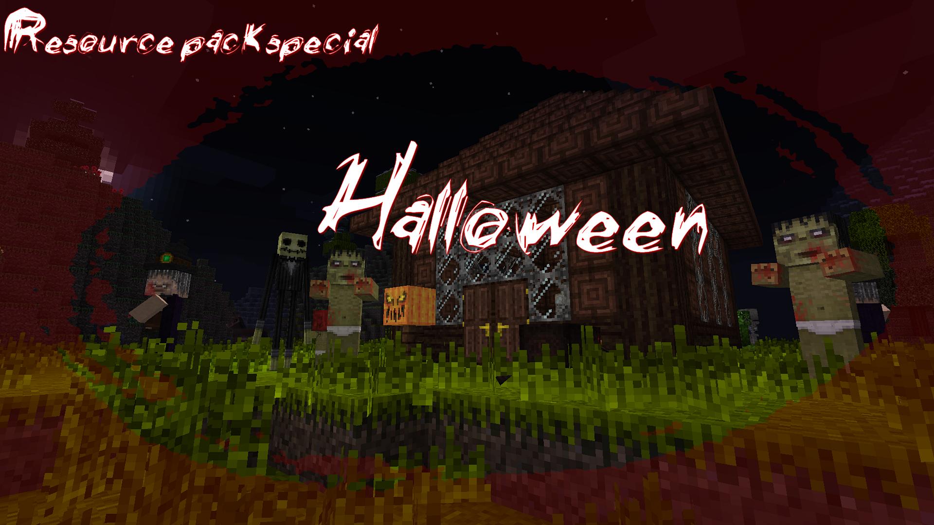 minecraft resource pack halloween