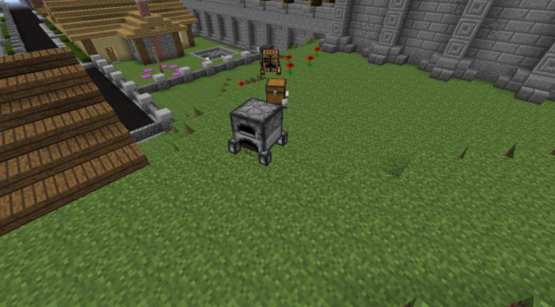 minecraft utility mod objets animés