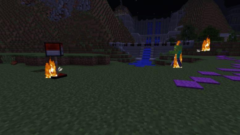 minecraft utility mod tourelle enflammée