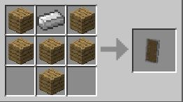 minecraft 1.9 craft bouclier