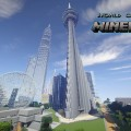 minecraft map monument impressionnant world of worlds