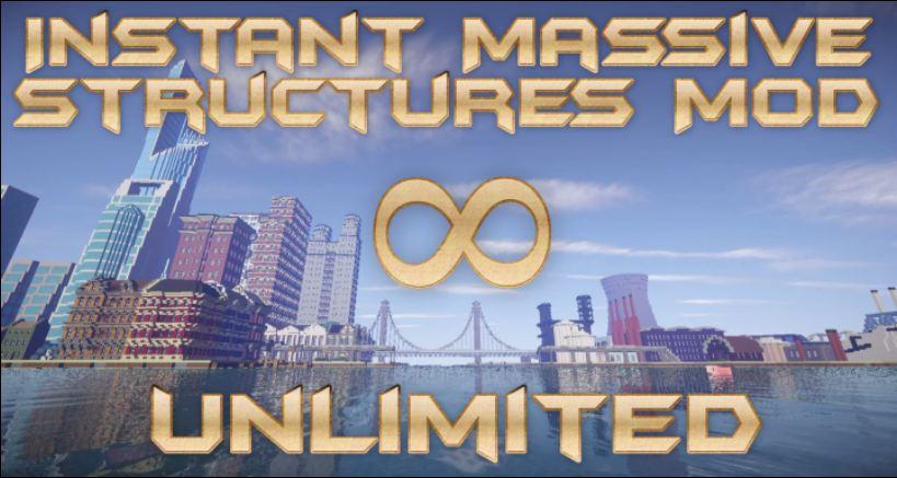 minecraft mod instant massive structure 1.9