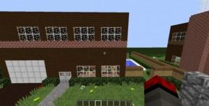 minecraft map aventure saving christmas 1.8 maison
