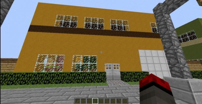 minecraft map aventure saving christmas 1.8 maison jaune
