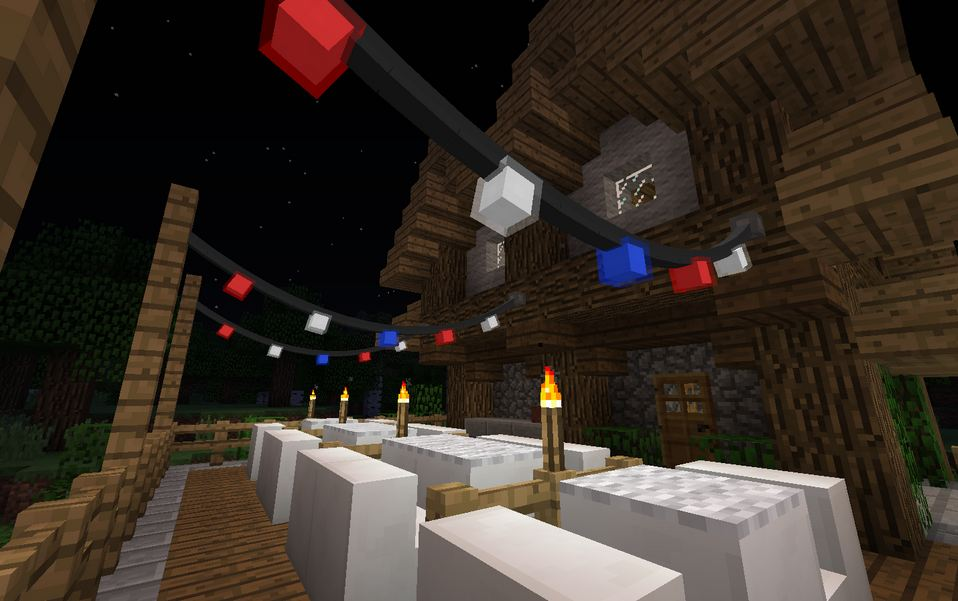 minecraft mod fairy lights lumiere