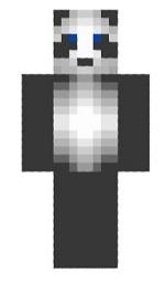 1.skin panda simple