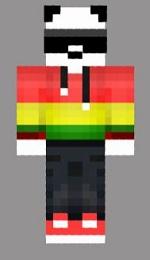 10.skin panda swag