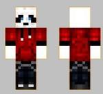 6.skin panda rouge face+dos