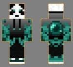 7.skin panda ender face+dos