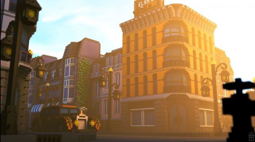 map ville lego city minecraft leve du jour