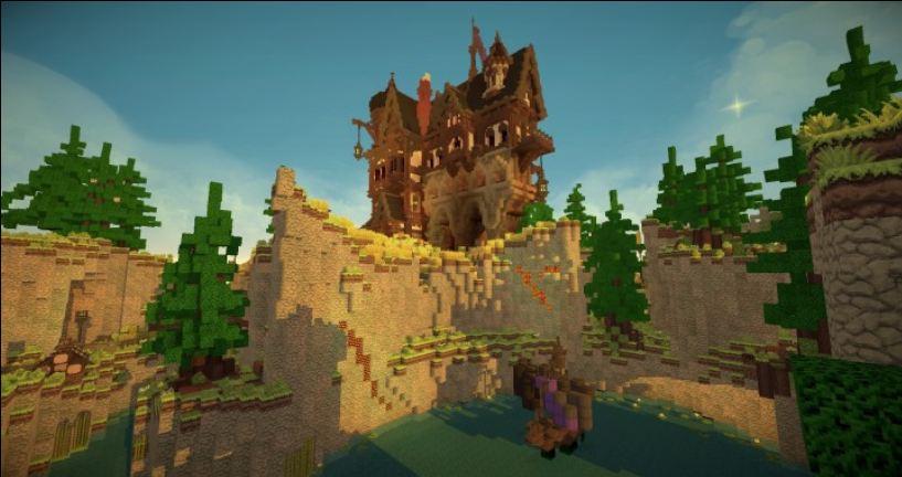 minecraft map maison médievale 1