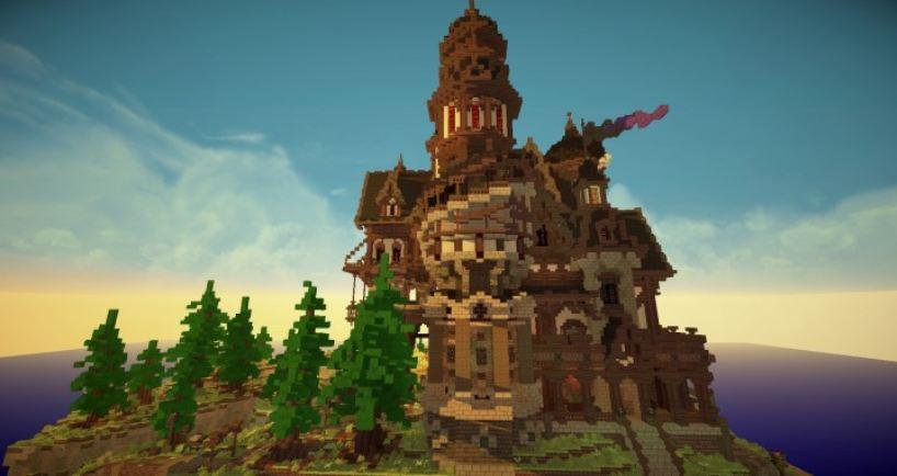 Minecraft Maison Médiévale
