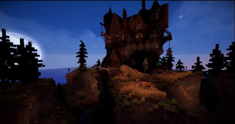 minecraft map maison médievale 3