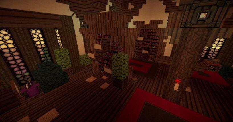 minecraft map maison médievale 4