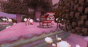 minecraft mod biome candycraft cochon canne à sucre