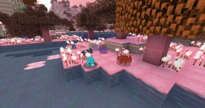 minecraft mod biome candycraft lapin en gomme