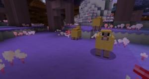 minecraft mod biome candycraft mouton sucré