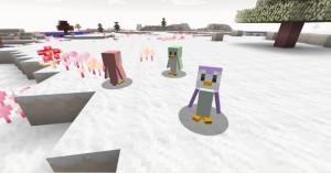 minecraft mod biome candycraft pinguin