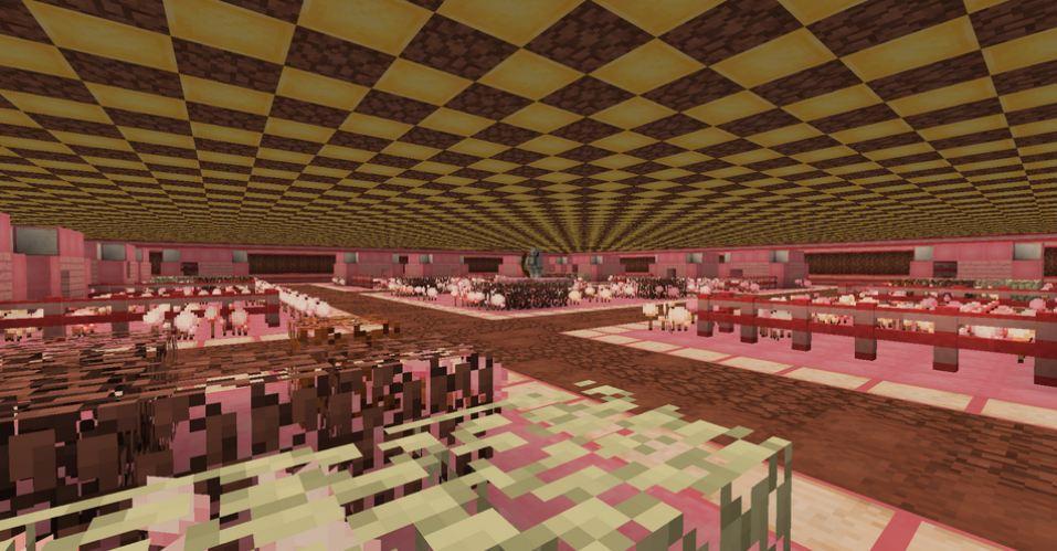 minecraft mod biome candycraft village souterrain de pain d'épice