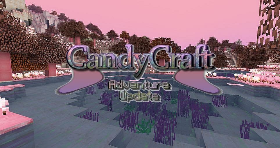 minecraft mod biome candycraft