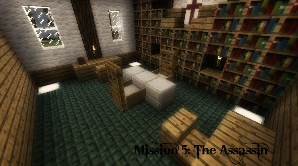 map aventure minecraft 1.8 assassin's creed reclaiming a kingdom mission 5