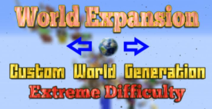 minecraft map survie world expansion banner