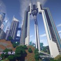 minecraft map ville future city 3.2