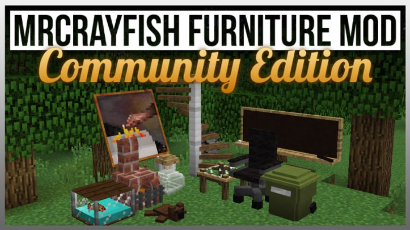 minecraft-mod-gameplay-furniture-community edition