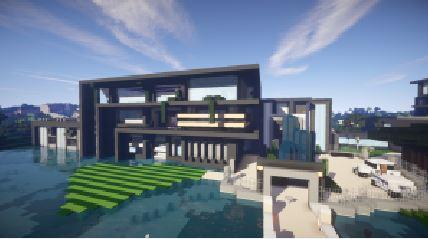 4.maison contemporaine